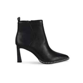 Beya Studded Leather Booties BCBGeneration