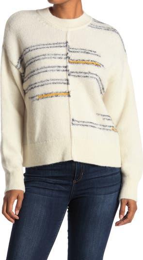 Center Seam Knit Sweater CLOSED