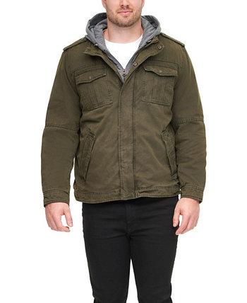 Мужская куртка большого размера с длинными рукавами, созданная для Macy's Levi's®