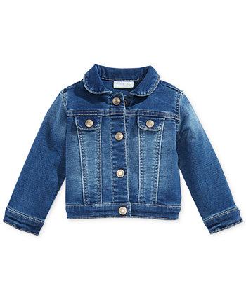 Джинсовая куртка Baby Girls, созданная для Macy's First Impressions