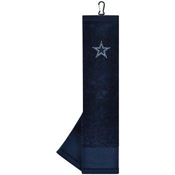 """Dallas Cowboys 16"""" x 24"""" Face & Club Tri-Fold Towel Unbranded"""