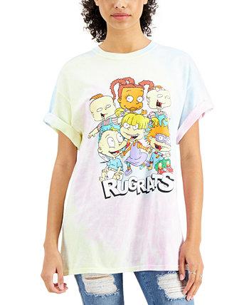 Хлопковая футболка с принтом тай-дай для юниоров Nickelodeon