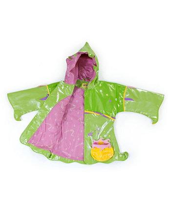 Девочка-малышка в удобном плаще Fairy на подкладке из полиэстера Kidorable