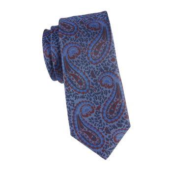 Шелковый галстук с пейсли Kiton