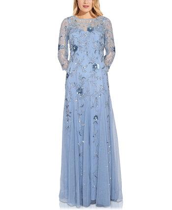 Украшенное платье Adrianna Papell
