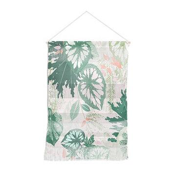 "Ивета Аболина Alocasia Garden Green Wall Hanging Portrait, 22 ""x32"" Deny Designs"