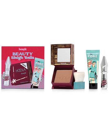 3-шт. Beauty Sleigh Bells Bronzer, Набор для бровей и праймеров Benefit Cosmetics