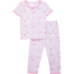 Комплект топа с короткими рукавами и брюк (для больших детей) Esme