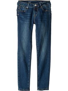 Зауженные супер-джинсы скинни в светло-голубых тонах (Big Kids) AG Adriano Goldschmied Kids