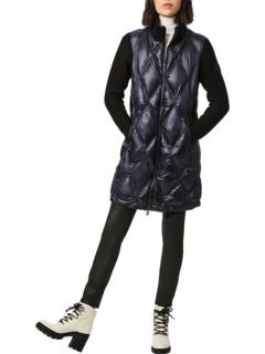 Куртка из глянцевого нейлона с комбинированным трикотажем Bernardo