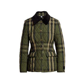 Стеганая куртка Lydd Barn Burberry