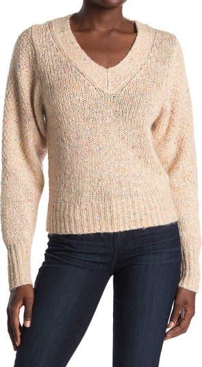 Вязаный свитер Andrain с V-образным вырезом Brochu Walker