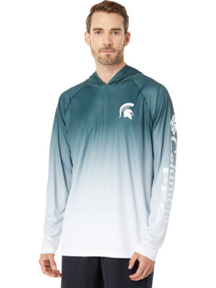 Толстовка с капюшоном Michigan State Spartans CLG Super Terminal Tackle ™ Columbia College