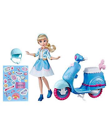 Самокат Золушки Disney Princess