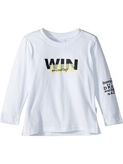 Поощряйте футболку с длинным рукавом и рисунком (для малышей / маленьких детей / больших детей) SUPERISM