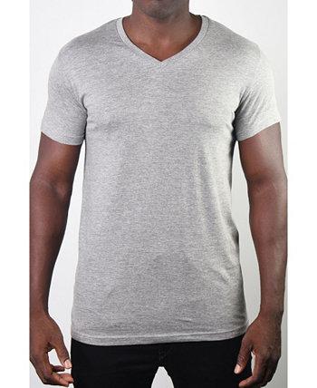 Мужская футболка с V-образным вырезом Members Only