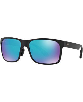Поляризованные солнцезащитные очки Red Sands, 432 Blue Hawaii Collection Maui Jim