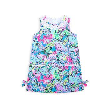 Маленькая девочка & amp; Классическое прямое платье Lilly для девочек Lilly Pulitzer