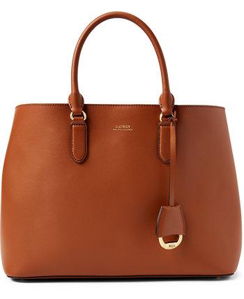 Кожаная сумка-портфель Dryden Marcy Ralph Lauren