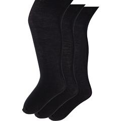 Хлопковые колготки Pima 3-Pack (младенец / малыш / маленький ребенок / большой ребенок) Jefferies Socks