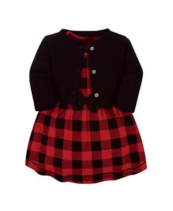 Baby Girl Органическое платье и кардиган Touched by Nature