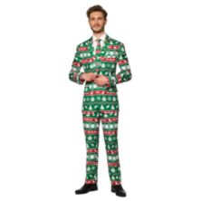 Мужской костюм Suitmeister Christmas Green Nordic Suitmeister