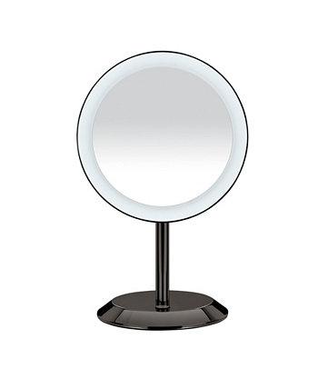 Одностороннее зеркало со светодиодной подсветкой с 5-кратным увеличением Conair