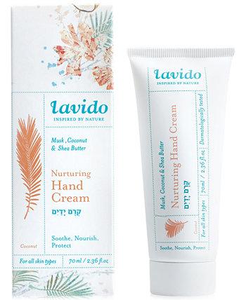 Питательный крем для рук - мускус, кокос и масло ши Lavido