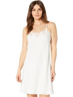 Шелковистая атласная короткая ночная рубашка Eileen West