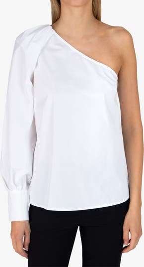 Блуза на одно плечо Elodie DEREK LAM