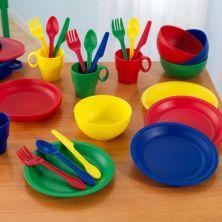 KidKraft® 27-шт. Набор основной посуды KidKraft
