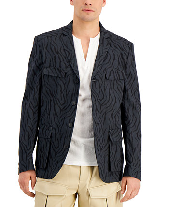 INC Men's Zebra Hybrid Jacket, Created for Macy's INC International Concepts