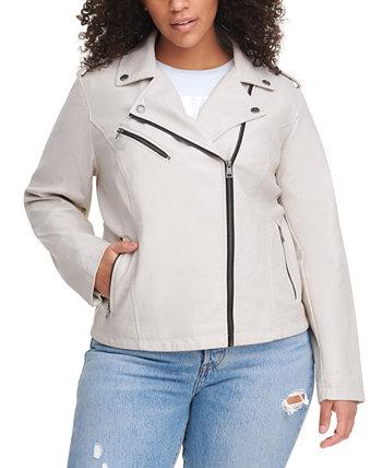 Модная мото-куртка из искусственной кожи больших размеров Levi's®