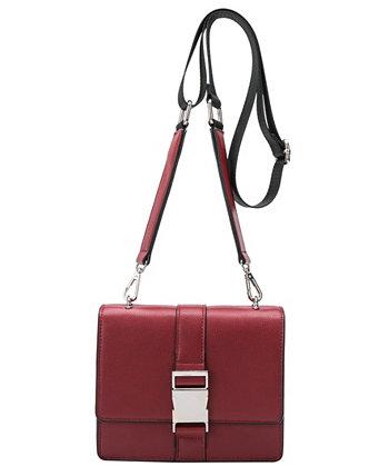 Маленькая сумка через плечо Stalking Gia из веганской кожи Melie Bianco