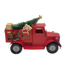 St. Nicholas Square® Red Truck Christmas Table Decor St. Nicholas Square