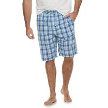 Big & Tall Croft & Barrow® Stretch Woven Pajama Shorts Croft & Barrow