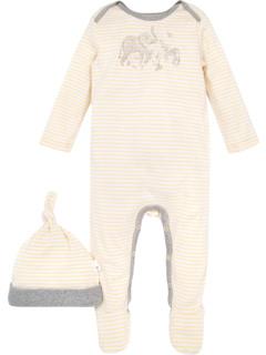 Хлопковый цельный комбинезон (для младенцев) Burt's Bees Baby