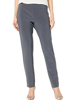 Длинные узкие классические брюки из микрофибры Krazy Larry