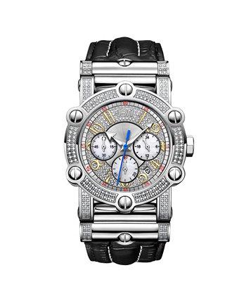 Мужской 10-летний юбилей Phantom Diamond (1 3/4 карат.т.) и часы с хронографом JBW