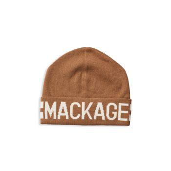 Шапка Kiko из смесовой шерсти с логотипом Mackage