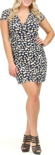 Платье Daisy со сборками и оборками по бокам Papillon