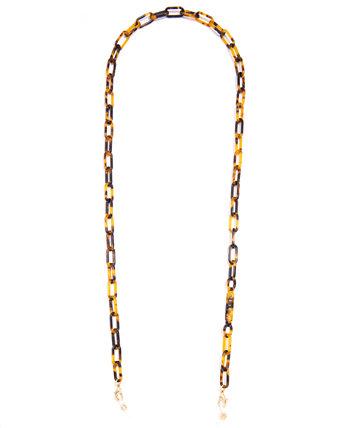 Золотистый держатель для очков Link 30 дюймов с цветным покрытием Zenzii
