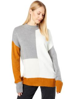 Пуловер в стиле колор-блок Bobeau