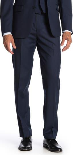 Шерстяной костюм Bidseye с раздельными штанами узкого кроя Calvin Klein