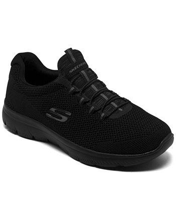 Женские вершины - крутые классические широкие спортивные кроссовки для ходьбы от Finish Line SKECHERS