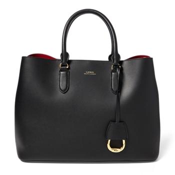 Кожаная сумка-портфель Marcy большого размера Ralph Lauren