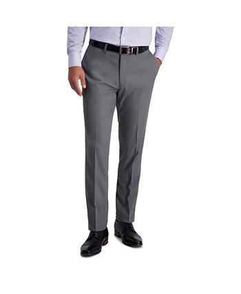 Stretch Heather Skinny Fit Плоский передний костюм с раздельными брюками Louis Raphael