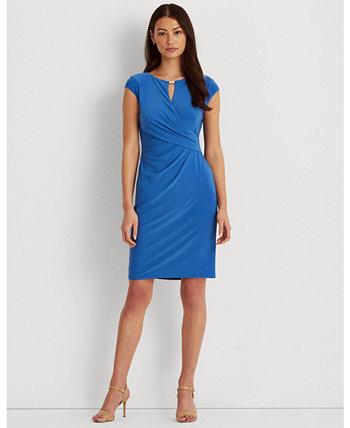 Wrap-Style Jersey Dress Ralph Lauren