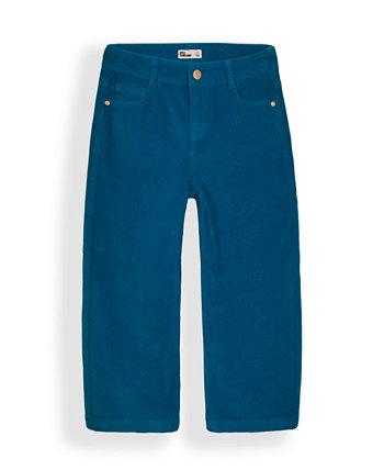Вельветовые брюки с широкими штанинами для больших девочек Epic Threads