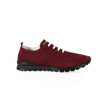 Яркие кроссовки на шнуровке Kiton
